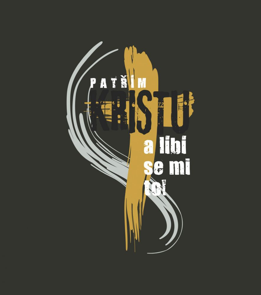 PATŘÍM KRISTU pánské triko tmavošedá