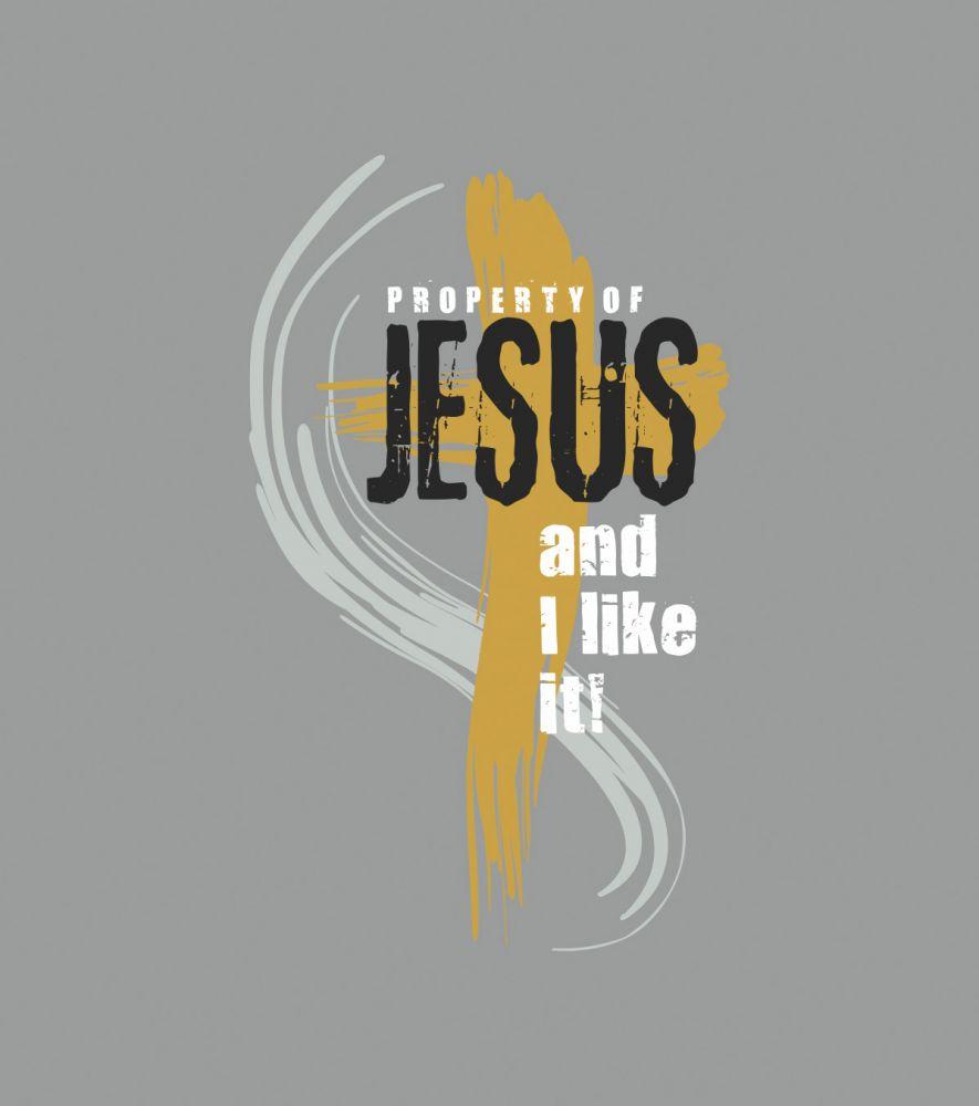 PROPERTY OF JESUS dámské tílko šedá