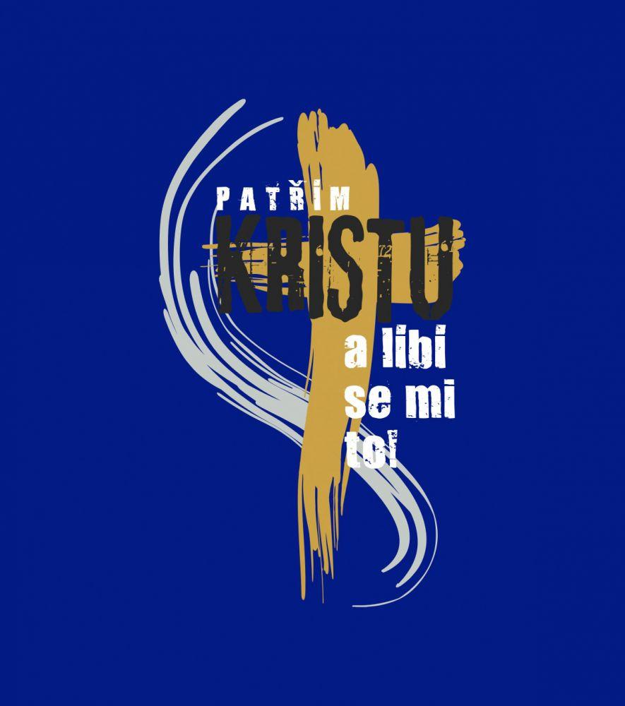 PATŘÍM KRISTU dámské triko modrá (navy)
