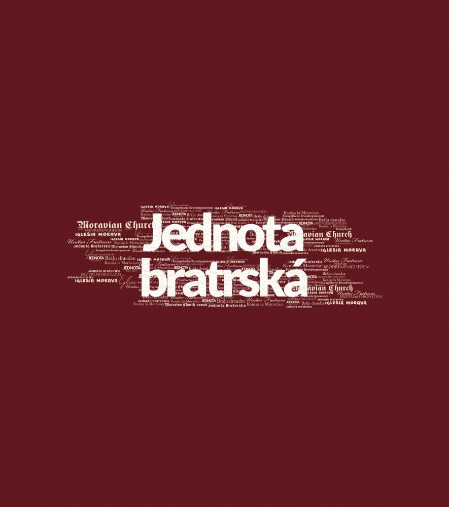 JEDNOTA BRATRSKÁ pánské triko granátová