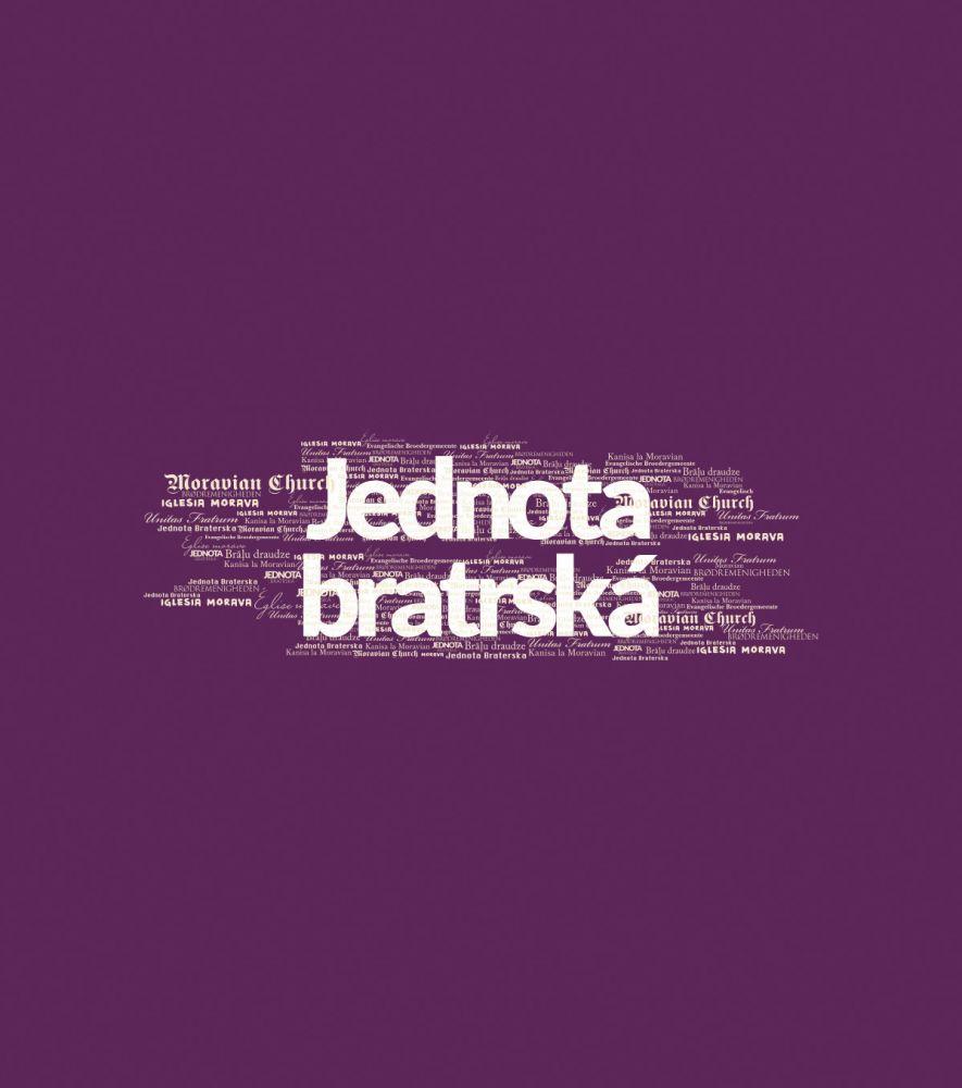 JEDNOTA BRATRSKÁ dámské triko purpurová