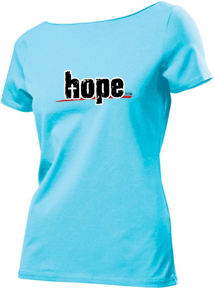 HOPE dámské světle modré
