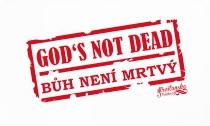GOD'S NOT DEAD dámské triko bílé (JAMAICA)