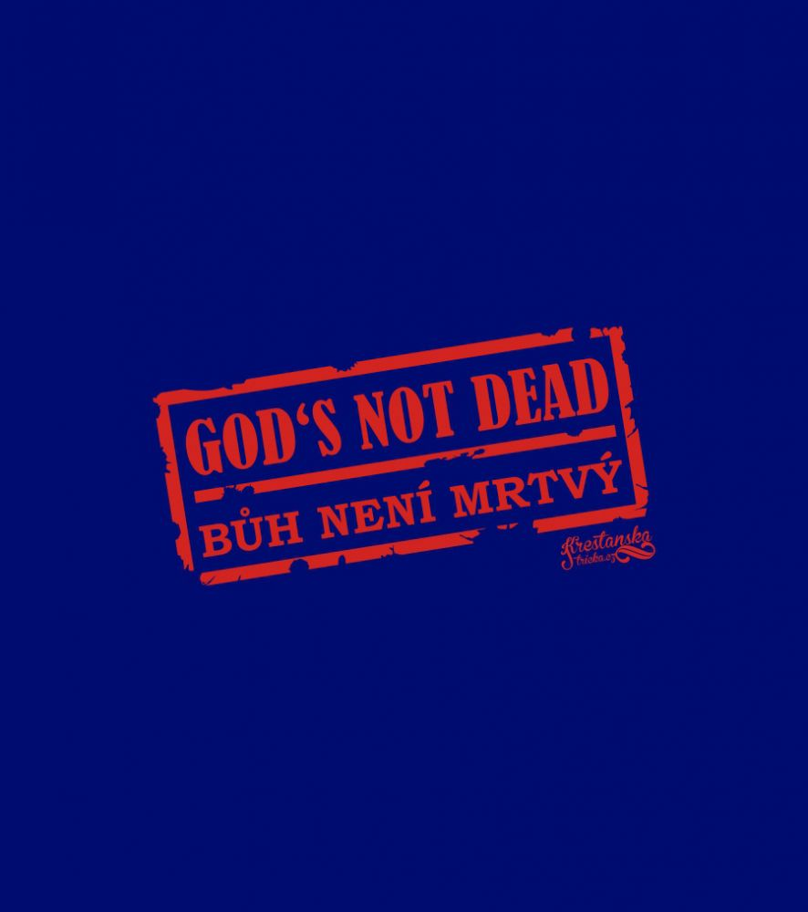 GOD'S NOT DEAD womens (navy)