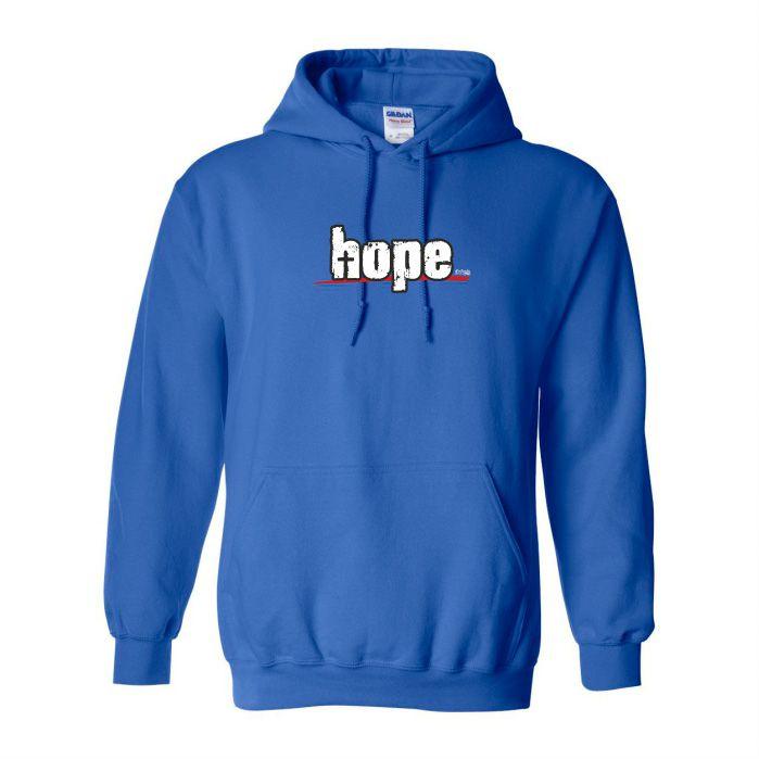HOPE Mikina-pánská modrá