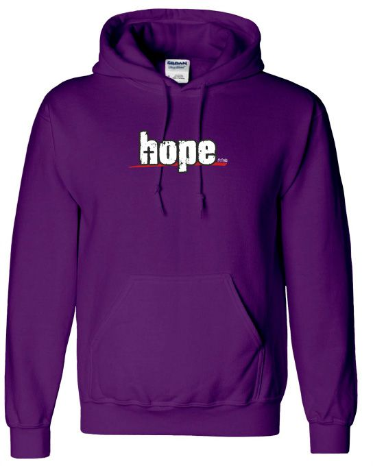 HOPE Mikina-pánská fialová