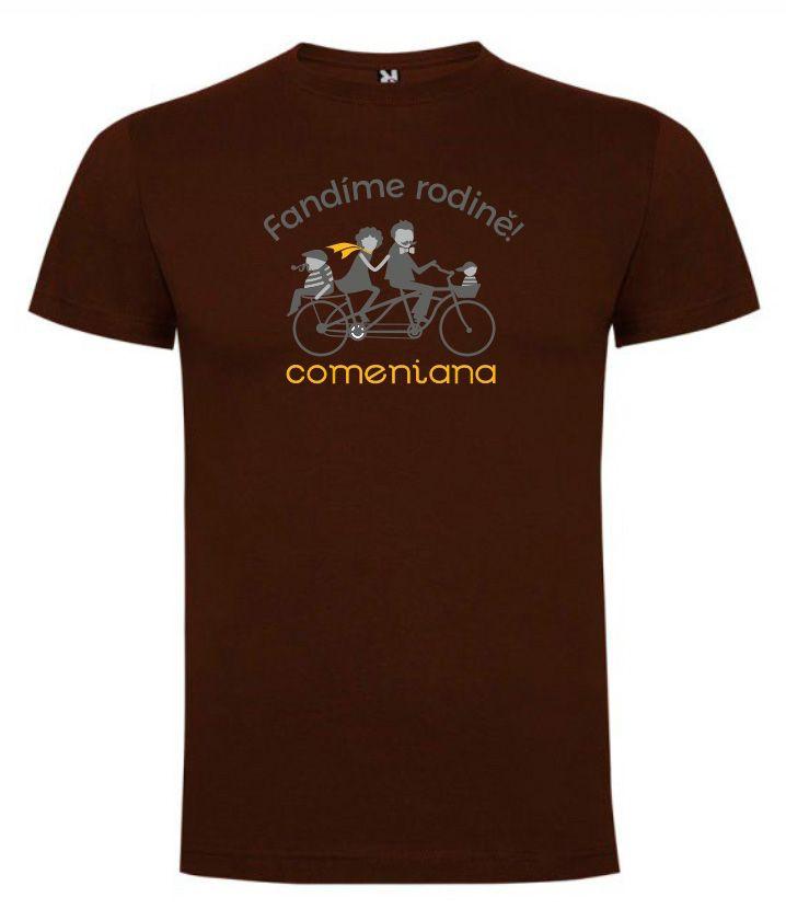 COMENIANA pánské triko černé