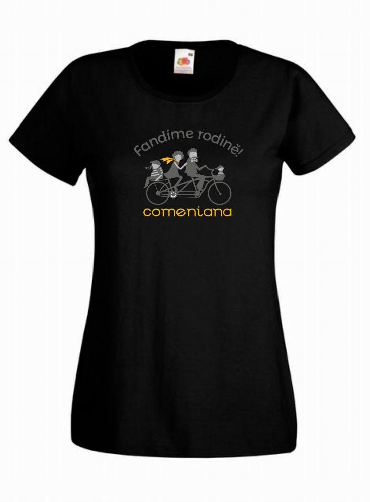 COMENIANA dámské triko černé