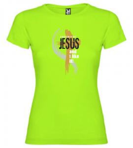 PROPERTY OF JESUS womens (light green)