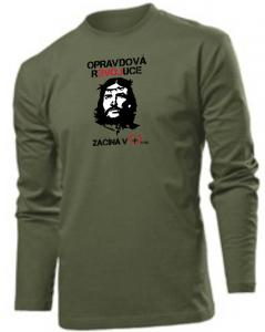 REAL REVOLUTION CZ (long sleeve khaki)