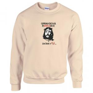 GOD'S NOT DEAD mens sweatshirt (sand)