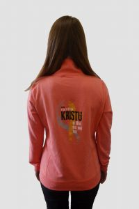 PROPERTY OF JESUS womens hoodie (light pink)