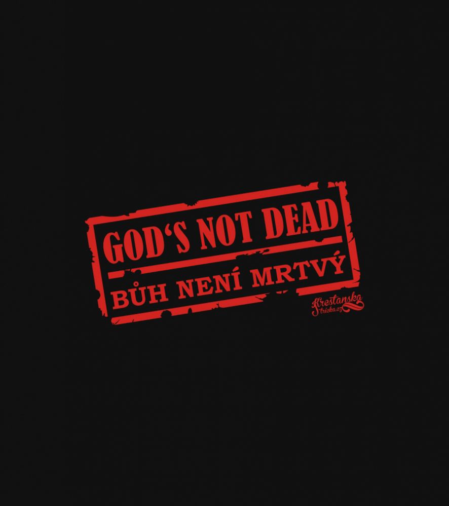 GOD'S NOT DEAD (long sleeve black)