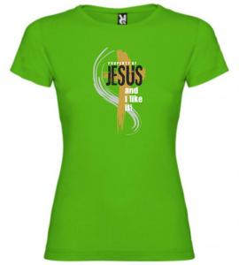 PROPERTY OF JESUS womens (green)