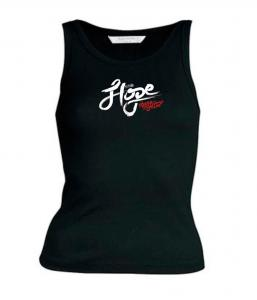 HOPE IN HIM womens sleeveless (black)